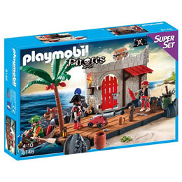 PLAYMOBIL - 6146 - SUPERSET FORTERESSE PIRATES