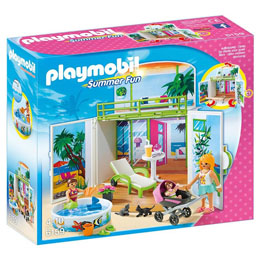 PLAYMOBIL - 6159 - SUMMER FUN COFFRE TERRASSE DE VACANCES