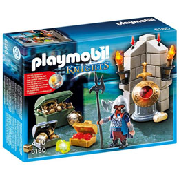 PLAYMOBIL - 6160 - JEU DE CONSTRUCTION - GARDIEN DU TRESOR ROYAL