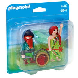 PACK DUO FEE ET ELFE PLAYMOBIL