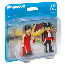 PLAYMOBIL 6845 DUO PACK DANSEURS FLAMENCO
