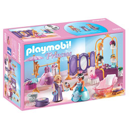 PLAYMOBIL PRINCESSE 6850 DRESSING ET SALON DE BEAUTE