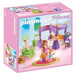 PLAYMOBIL 6851 - CHAMBRE DE LA REINE