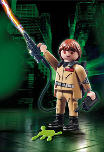 SOS FANTÔMES FIGURINE PLAYMOBIL DE COLLECTION PETER VENKMAN