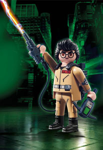 SOS FANTÔMES FIGURINE PLAYMOBIL DE COLLECTION EGON SPENGLER