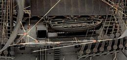 Photo du produit MAQUETTE 1/72 BLACK PEARL PIRATES DES CARAÏBES 47 CM Photo 4