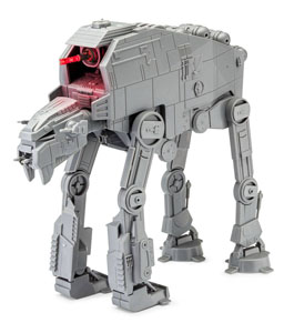 Photo du produit STAR WARS PACK MAQUETTE BUILD & PLAY SONORE ET LUMINEUSE 1/164 1ST ORDER HEAVY ASSAULT  Photo 1