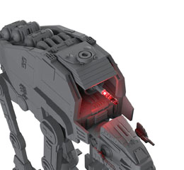 Photo du produit STAR WARS PACK MAQUETTE BUILD & PLAY SONORE ET LUMINEUSE 1/164 1ST ORDER HEAVY ASSAULT  Photo 2