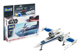 STAR WARS MAQUETTE 1/50 MODEL SET RESISTANCE X-WING FIGHTER 25 CM