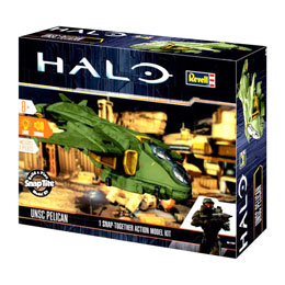 HALO MAQUETTE UNSC-PELICAN BUILD & PLAY SONORE ET LUMINEUSE