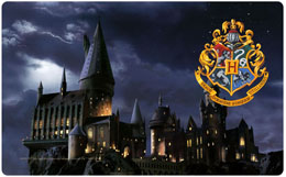 HARRY POTTER PLANCHE A DECOUPER HOGWARTS