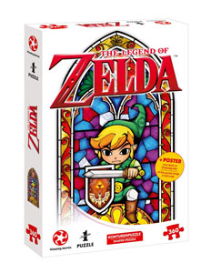THE LEGEND OF ZELDA PUZZLE LINK THE HERO OF HYRULE
