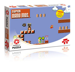 SUPER MARIO BROS. PUZZLE HIGH JUMPER