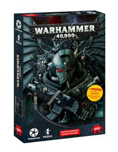 WARHAMMER 40.000 PUZZLE GLOW-IN-THE-DARK