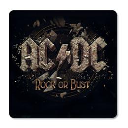 6 SOUS-VERRES AC/DC ROCK OR BUST