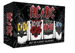 Photo du produit AC/DC SET 4 VERRES À LIQUEUR BLACK ICE Photo 1