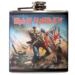 IRON MAIDEN FLASQUE THE TROOPER