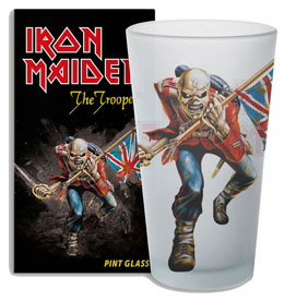 VERRE IRON MAIDEN THE TROOPER