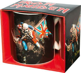 MUG IRON MAIDEN THE TROOPER