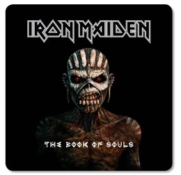 PACK DE 6 SOUS VERRES IRON MAIDEN THE BOOK OF SOULS
