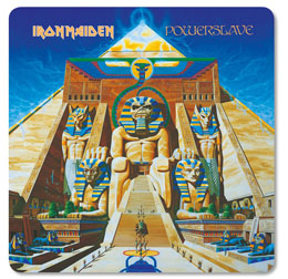 PACK DE 6 SOUS VERRES IRON MAIDEN POWERSLAVE