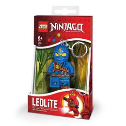 PORTE CLE LEGO NINJAGO MINI LAMPE DE POCHE AVEC CHAINETTE JAY