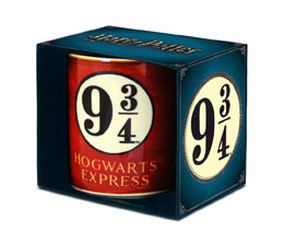 HARRY POTTER MUG PLATFORM 9 3/4
