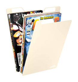 Photo du produit Ultimate Guard 25 intercalaires pour Comics Premium Comic Book Dividers Sable Photo 2