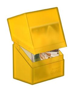 Photo du produit Ultimate Guard Boulder Deck Case 60+ taille standard Amber Photo 1