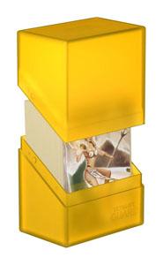 Photo du produit Ultimate Guard Boulder Deck Case 60+ taille standard Amber Photo 2