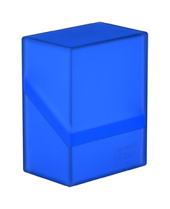Ultimate Guard Boulder Deck Case 60+ taille standard Sapphire
