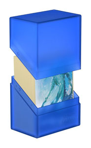Photo du produit Ultimate Guard Boulder Deck Case 60+ taille standard Sapphire Photo 2