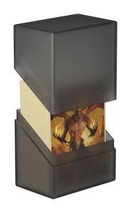 Photo du produit Ultimate Guard Boulder Deck Case 60+ taille standard Onyx Photo 2