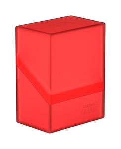 Ultimate Guard Boulder Deck Case 60+ taille standard Ruby