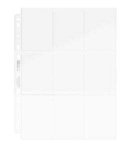 Photo du produit Ultimate Guard 9-Pocket Pages (100) Photo 2
