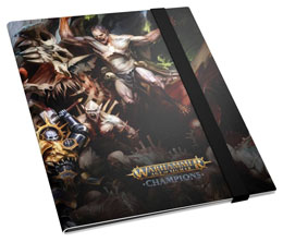 Photo du produit WARHAMMER AGE OF SIGMAR CHAMPIONS 18-POCKET FLEXXFOLIO ORDER VS. DEATH Photo 1