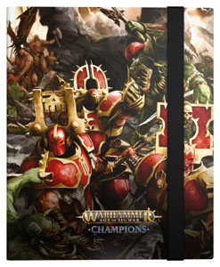 WARHAMMER AGE OF SIGMAR: CHAMPIONS 18-POCKET FLEXXFOLIO CHAOS VS. DESTRUCTION