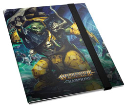 Photo du produit WARHAMMER AGE OF SIGMAR: CHAMPIONS 18-POCKET FLEXXFOLIO DESTRUCTION VS. DEATH Photo 1