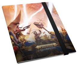 Photo du produit WARHAMMER AGE OF SIGMAR: CHAMPIONS 18-POCKET FLEXXFOLIO CHAOS VS. ORDER Photo 1