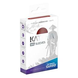 Ultimate Guard 60 pochettes Katana Sleeves format japonais Rouge