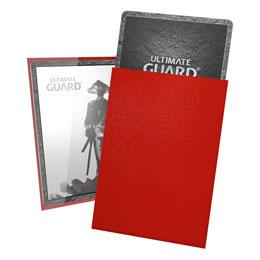 Photo du produit Ultimate Guard 60 pochettes Katana Sleeves format japonais Rouge Photo 1
