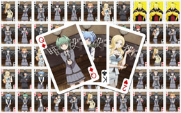 ASSASSINATION CLASSROOM JEU DE CARTES À JOUER CHARACTERS