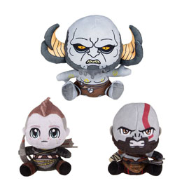 GOD OF WAR PACK 3 PELUCHES STUBBINS 10-15 CM