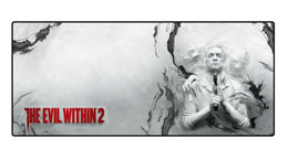THE EVIL WITHIN 2 TAPIS DE SOURIS OVERSIZE ENTER THE REALM