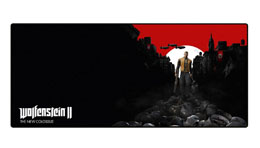 WOLFENSTEIN II TAPIS DE SOURIS OVERSIZE TRAIL OF THE DEAD