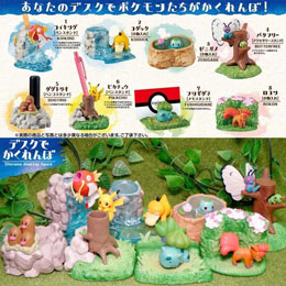 Photo du produit POKEMON DESKTOP DIORAMA FIGURE BOITE DE 8 Photo 1