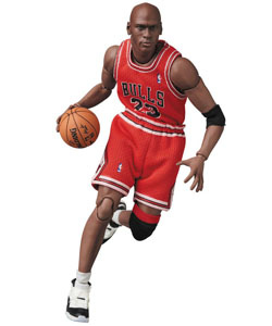 NBA FIGURINE MAF EX MICHAEL JORDAN (CHICAGO BULLS) 17 CM