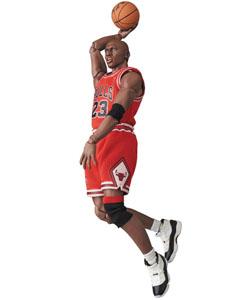 Photo du produit NBA FIGURINE MAF EX MICHAEL JORDAN (CHICAGO BULLS) 17 CM Photo 4