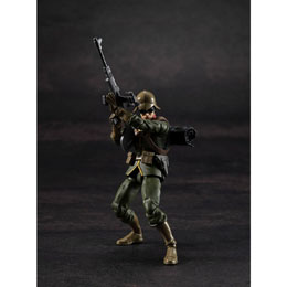 MOBILE SUIT GUNDAM FIGURINE G.M.G. PRINCIPALITY OF ZEON ARMY SOLDIER 01 10 CM