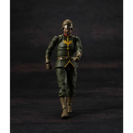 MOBILE SUIT GUNDAM FIGURINE G.M.G. PRINCIPALITY OF ZEON ARMY SOLDIER 02 10 CM